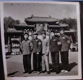 文革时期老照片,原照--红卫兵--收藏夹相册
