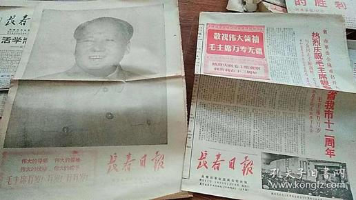 长春日报 1970年30张合售