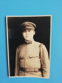 日本关东军士兵【3】老照片长8.6宽5.6厘米【高崎第十五联队】