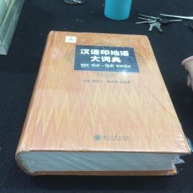 汉语印地语大词典