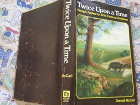 Twice Upon a Time - Aesops Fables for 20th-Century Christians,1971精装插图本,九品强