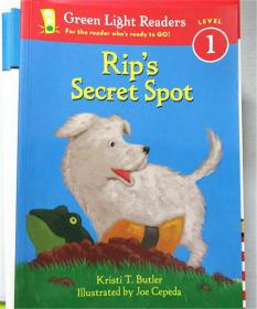 平装 Rip's Secret Spot (Green Light Readers Level 1)
