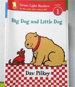 尾单 平装 Big Dog and Little Dog (Reader) (Green Light Readers Level 1)