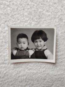 黑白老照片(小时候)3.5cm/2.5cm
