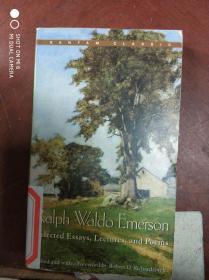 特价现货~Ralph Waldo Emerson Selected Essays,Lectures,and Poems9780553213881