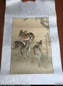 歐豪年精品  上海收藏家畫家徐仁初上款