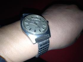 上海牌 全钢防震 机械手表(文革毛体字)