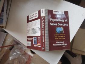 thepsychoiogy of saies success 英文