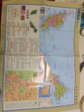 马来西亚地图+新加坡地图