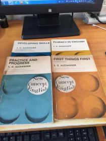 新概念英语--学生用书(1-4册)((英文版)