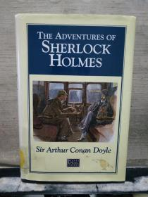 THE ADVENTURES OF SHERLOCK HOLMES (32开精装本)英文原版