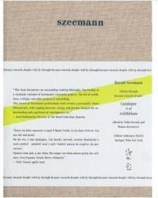 正版:Harald Szeemann: With by Through Because Towards 哈洛德 塞曼