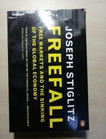 英文原版 FREEFALL JOSEPH STIGLITZ 自由落体的约瑟夫斯蒂格利茨