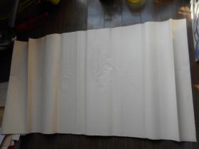 老纸头【90年代,四尺宣纸,23张】有水迹斑