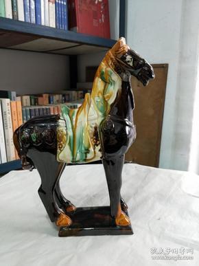 唐三彩 马