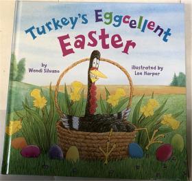 精装 Turkey's Eggcellent Easter (Turkey Trouble) 土耳其的Eggcellent复活节