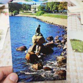 外国风景5张,不同版,背面有英语和日语,