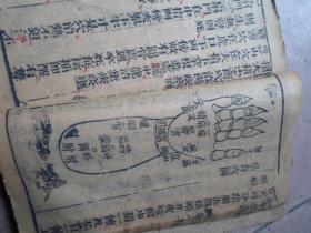 清代早期版本医学书籍---《新刻小儿推拿偏方》---上册一厚本