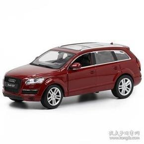 美致合金车模(型号26030) 1:24仿真奥迪Q7汽车模型 SUV模型 收藏摆件