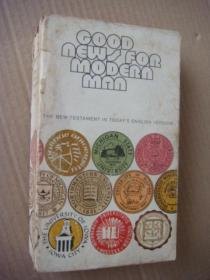GOOD NEWS FOR MODERN MAN 英文原版 1971年 插图本