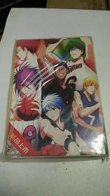 日本原版卡通 【黑子篮球】 盒装明信片 18张 未拆封