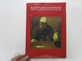 EUROPEAN MASTERPIECES FROM THE NATIONAL GALLERY OF IRELAND (爱尔兰国家美术馆的欧洲杰作) 小8开