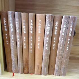 王小波全集(精装1-10卷)合售
