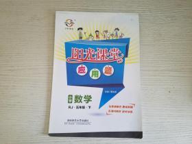 阳光课堂应用题:小学数学(五年级下 RJ)【实物拍图  品相自鉴 】