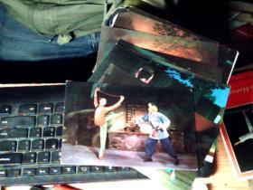 革命现代芭蕾舞剧 白毛女 明信片 12张全 没有护封     6C
