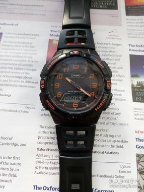 卡西欧光动能太阳能手表
