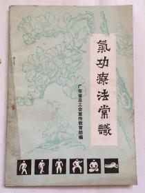 气功疗法常识/广东省总工会宣传教育部 编
