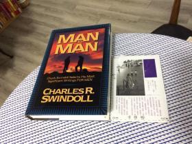 英文原版 Man to Man :  Chuck Swindoll selects his most signficant writing for men 【存于溪木素年书店】
