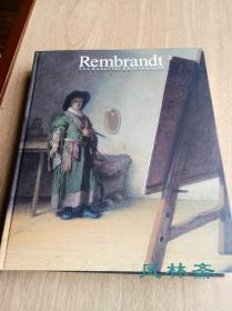 Rembrandt - The Quest for Chiaroscuro 伦勃朗绘画版画展 16开厚册124图