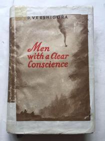 49年英文原版《良心洁白的人们》32开精装本