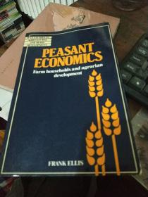 PEASANT  ECONOMICS ; FARM  HOUSEHOLDS  AND  AGRARIAN  DEVELOPMENT