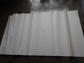 老纸头【90年代,四川夹江纸,38张】尺寸:98.5×53厘米