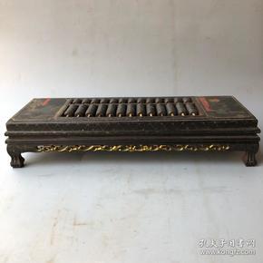 木头漆器长方型精打细算算盘长60厘米,宽20厘米,高12厘米重3240克,古玩 老物件