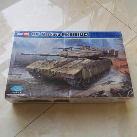 以色列梅卡瓦3D主战坦克 拼装玩具 军事模型玩具