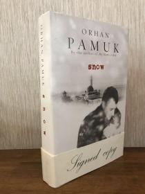 Pamuk 奧爾罕?帕慕克簽名英版初版 <雪> 諾貝爾獎得主