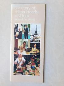 Directory of Hilton Hotels and Inns  ---Around the World