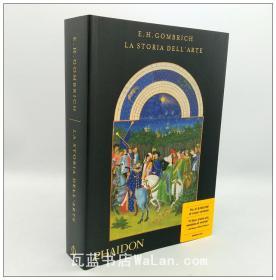艺术的故事 意大利语版 la storia dell arte 贡布里希著