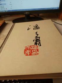 潘天寿作品集 80年一版一印 8开精装 罕见