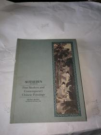 sotheby`s founded 1744 fine modern and contemporary chinese paintings 苏富比