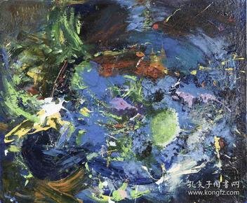著名油画家、黑龙江省美协会员 王冬晖 2017年布面油画作品《无奈》一幅(尺寸:50*60cm)HXTX103805