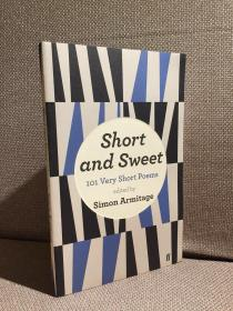 Short and Sweet: 101 Very Short Poems(《经典短诗101首》,Simon Armitage编辑,漂亮封面)