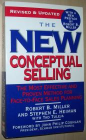 英文原版书 The New Conceptual Selling: The Most Effective and Proven Method for Face-to-Face Sales Planning 平装本
