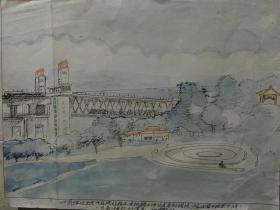 家门囗的风景,南京长江大桥