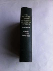 The Advanced  Learners Dictionary Of Current English (Second  Edition)   牛津高阶学习词典  1963年版