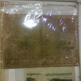 西藏地方明细地图