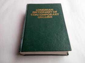 LONGMAN DICTIONARY OF CONTEMPOR ARY ENGLISH